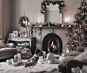 christmas and children image