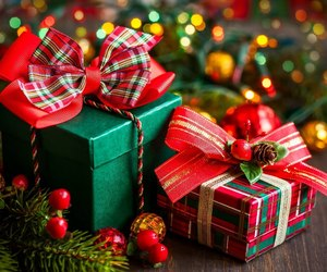 gift, christmas, and new year image