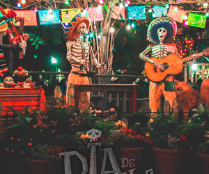 day of the dead, dia de muertos, and fiesta image