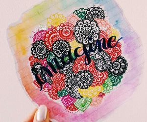 artist, colorful, and imagine image