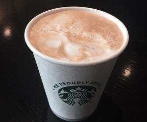 coffee, photography, and starbucks image
