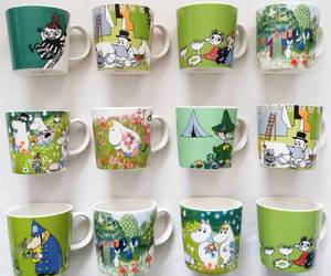coffee, green, and moomintroll image