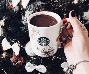 starbucks, amazing, and christmas tree image
