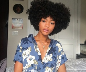 Afro, beauty, and black women image