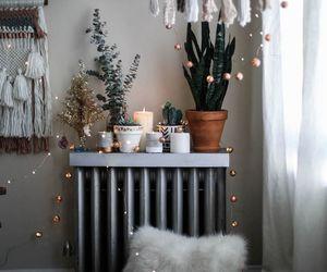 home, lights, and decor image