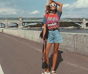 girl, style, and vintage image