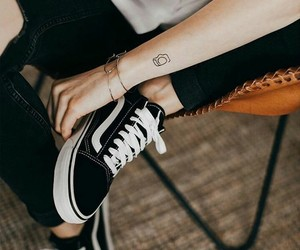 tattoo, vans, and black image