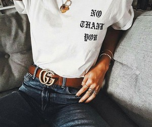 belt, clothe, and cool image