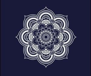 mandala, black, and draw image