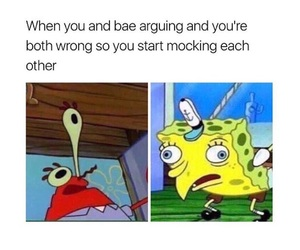 funny, couple, and meme image