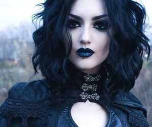 fashion, goth, and gothic image