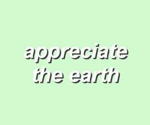 earth, green, and quotes image
