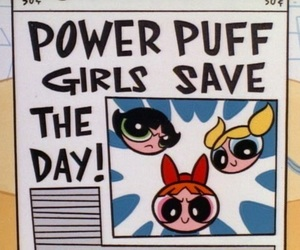 cartoon, ppg, and power puff girls image