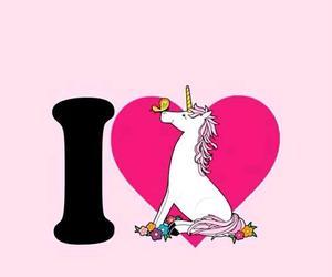 unicorn, background, and pink image