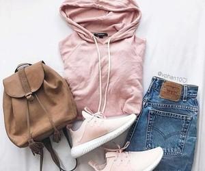 sweatshirt with sneakers image