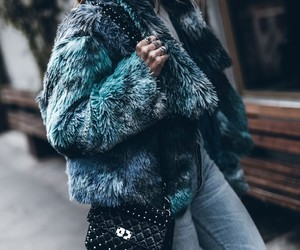 clothes, faux fur, and inspiration image