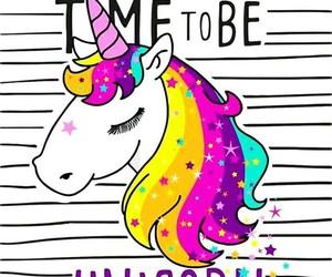rainbow, unicorn, and phone wallpaper image