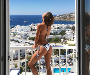 beautiful, fitness, and Greece image