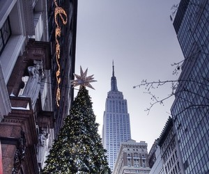 christmas, winter, and city image