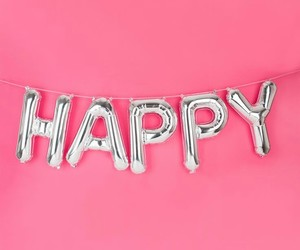 happy and pink image