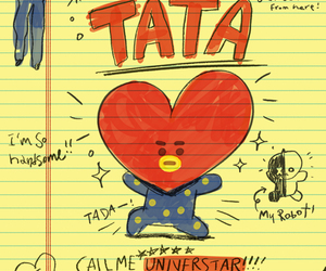 tata, v, and bts image
