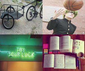 aesthetic, kuroko no basket, and midorima shintarou image