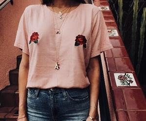 fashion, pink, and rose image