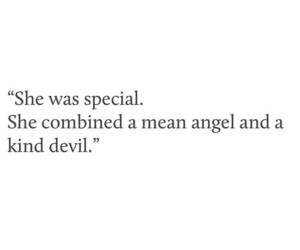 beautiful, angel, and Devil image