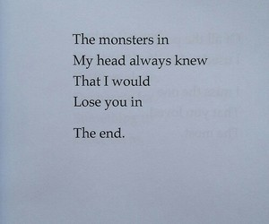quotes, monster, and grunge image
