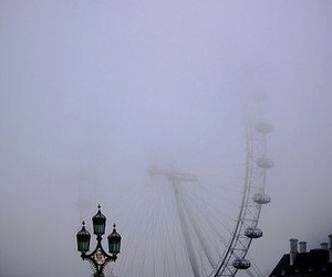 cloudy, london, and Londres image
