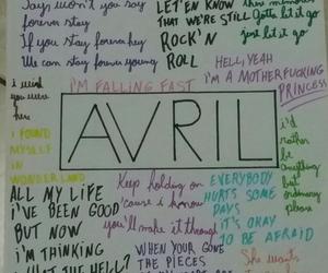 Avril Lavigne, complicated, and Lyrics image