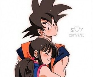goku and chichi image