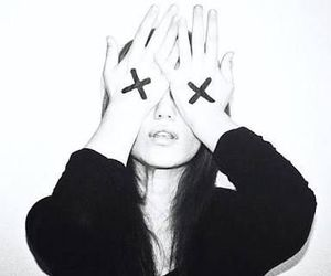 girl, grunge, and x image