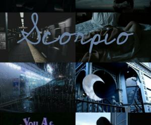 scorpio, sign, and wallpaper image