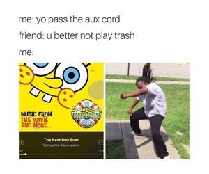 spongebob, funny, and meme image