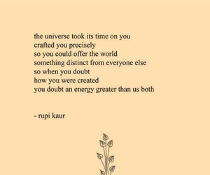 quotes, rupi kaur, and poem image