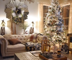 chic, christmas, and cottage image