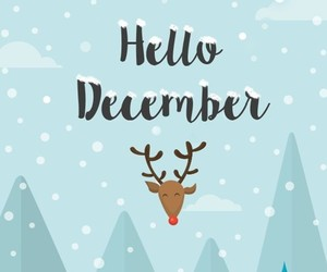 december, christmas, and cold image