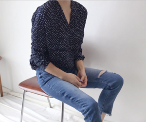 blouse, casual, and clothes image