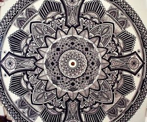 art, doodle, and zentangle image