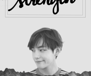 army, black and white, and v image