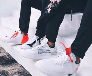 air force, off white, and sneakers image