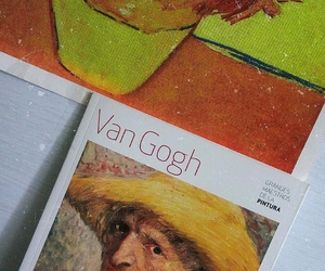 art, sunflowers, and vincent image