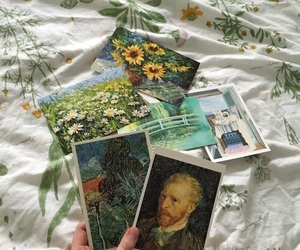 aesthetic, art, and flowers image