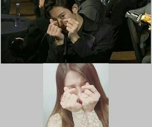 exo, eunji, and chanyeol image