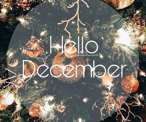 december, hello, and new image