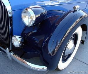 blue, cars, and vintage cars image