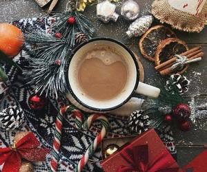 christmas, coffee, and hot chocolate image