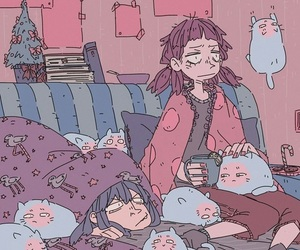 anime, art, and cozy image