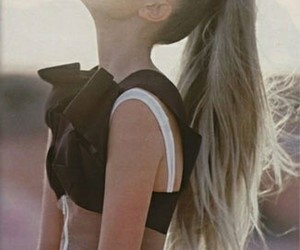 high ponytail, simple hairstyles, and ponytail with extensions image